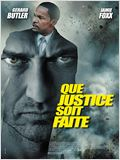 Que justice soit faite