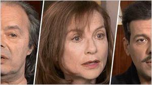 Elle : Isabelle Huppert, Laurent Lafitte et Philippe Djian parlent du retour de Paul Verhoeven