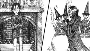 Harry Potter : découvrez des croquis originaux de J.K. Rowling !
