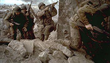 photo du film il faut sauver le soldat ryan photo 49 sur 55 allocin. Black Bedroom Furniture Sets. Home Design Ideas
