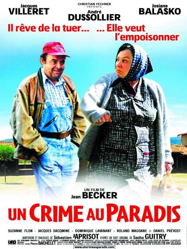 """Résultat de recherche d'images pour """"UN CRIME AU PARADIS"""""""