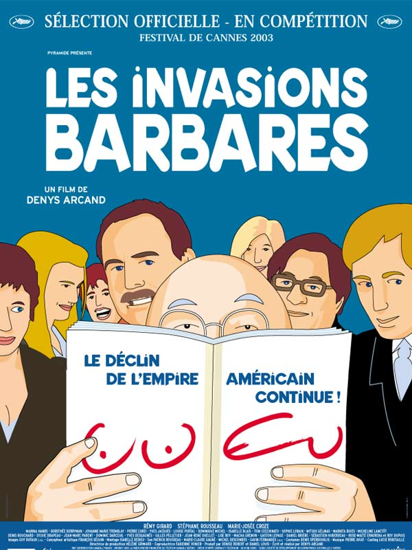 Les invasions barbares  VFQ  correction