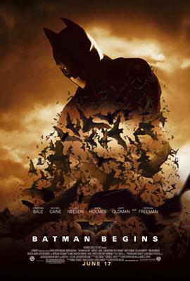 Batman Begins : Affiche