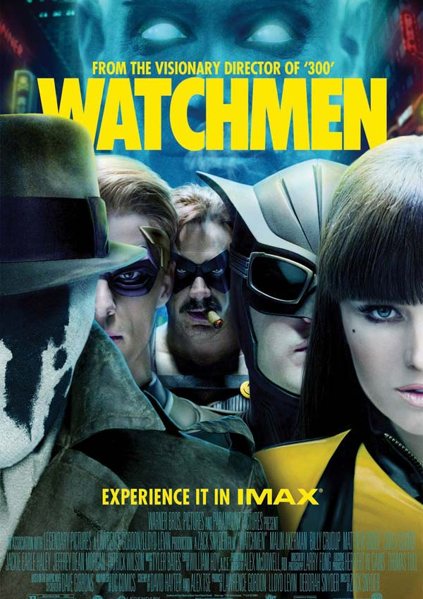 watchmen les gardiens