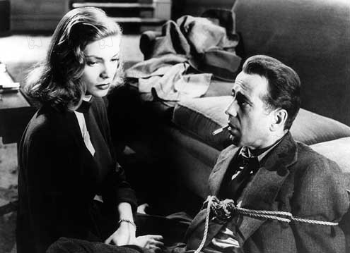 Le Grand sommeil : Photo Howard Hawks, Humphrey Bogart, Lauren Bacall
