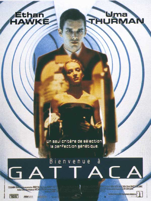 film techniques gattaca Genetic engineering, persistence, deceit, space exploration, and love this film opens artistically, with credits rolling over a blue background, the letters a , t he goes about his day at the gattaca space center the technique of genetic profiling relies on isolation of genetic.