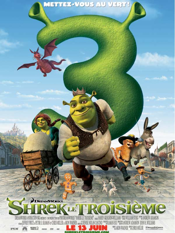 Shrek le troisième streaming
