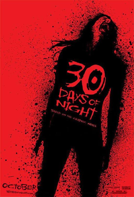 30 jours de nuit : Affiche David Slade