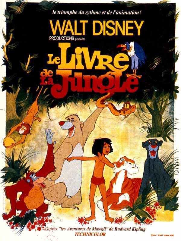 Le Livre De La Jungle Film 1967 Allocine