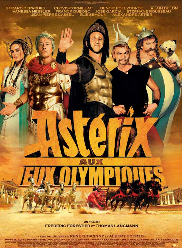 Image result for asterix aux jeux olympiques