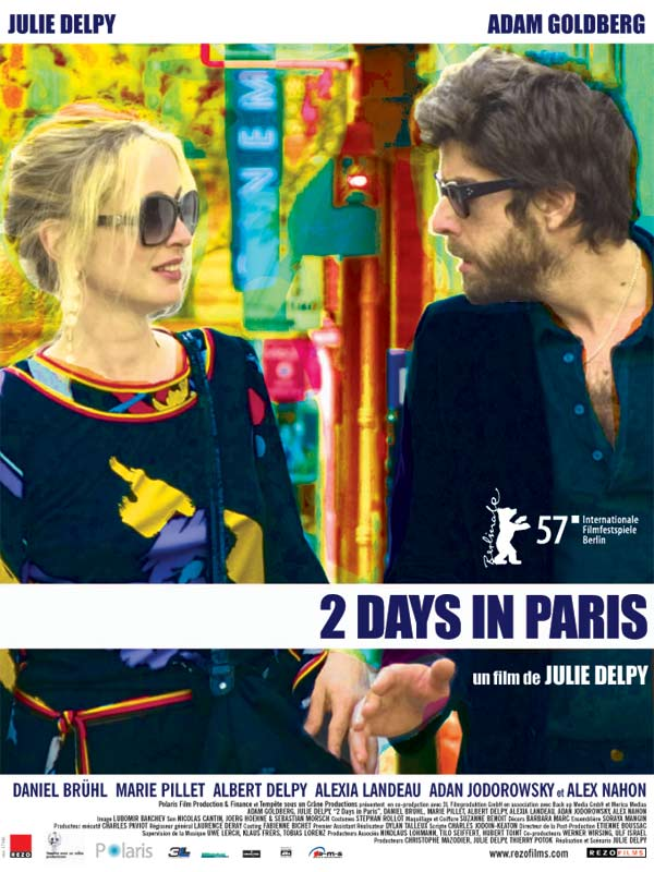 2 Days in Paris streaming