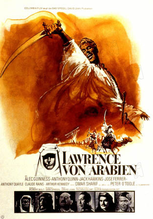 Lawrence d'Arabie : Photo David Lean, Peter O'Toole