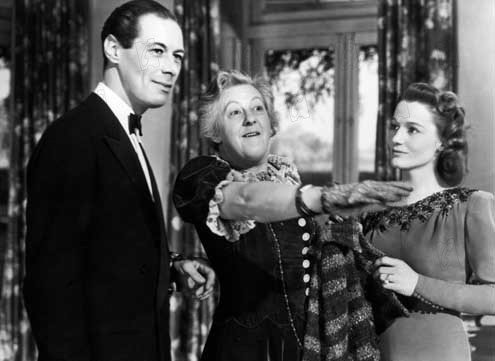L'Esprit s'amuse : photo Constance Cummings, David Lean, Margaret Rutherford, Rex Harrison