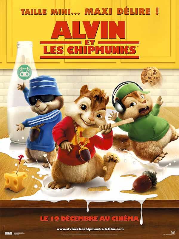 Alvin et les chipmunks film 2007 allocin - Coloriage alvin et les chipmunks 4 ...
