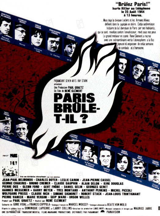 Paris brûle-t-il ? streaming