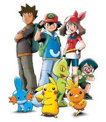 Pok mon saison 1 allocin - Pokemon noir et blanc personnage ...