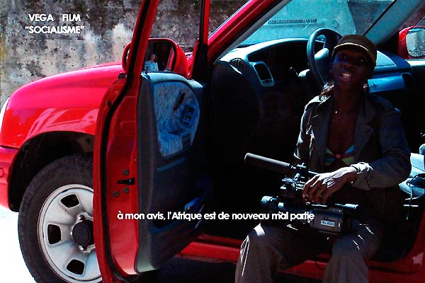 Film Socialisme : photo Jean-Luc Godard