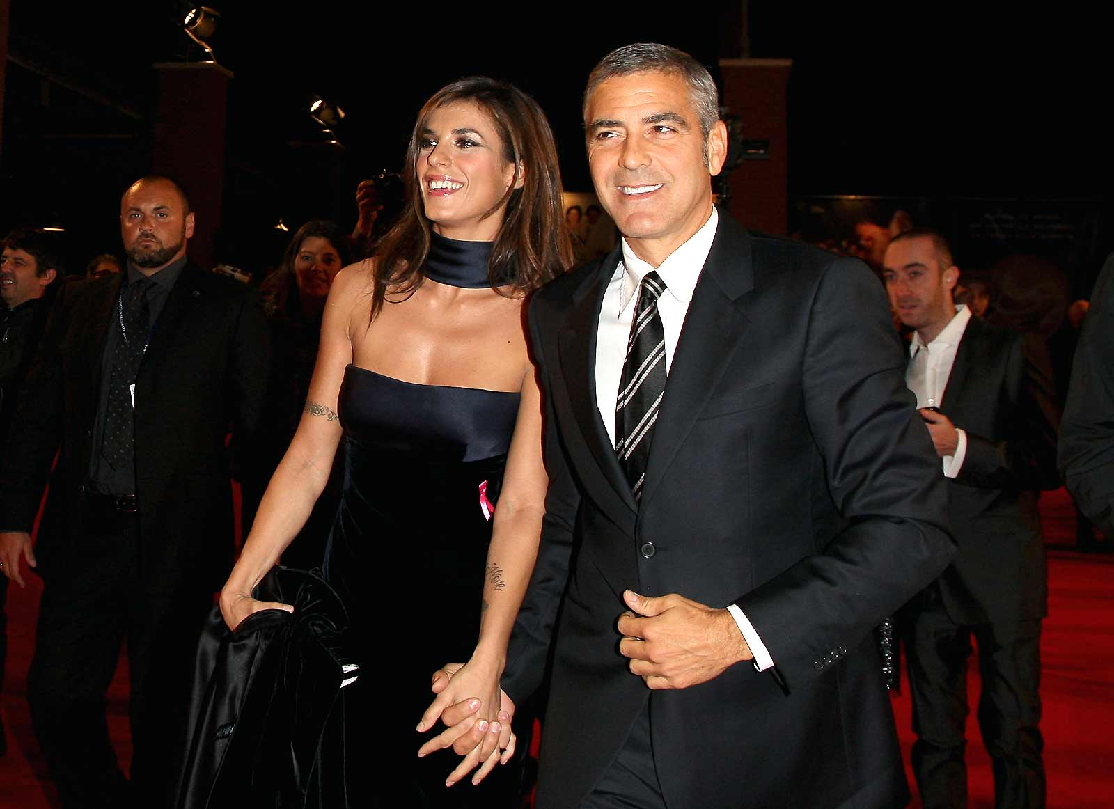 In the Air : Photo George Clooney