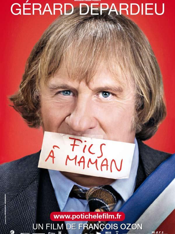 Potiche : Affiche Gérard Depardieu