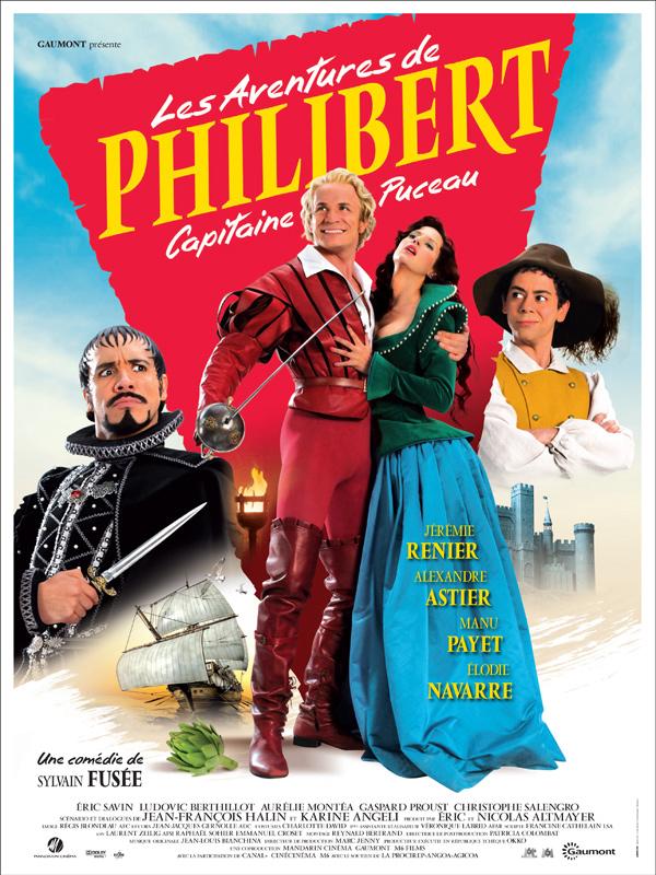 Les Aventures de Philibert, capitaine puceau affiche