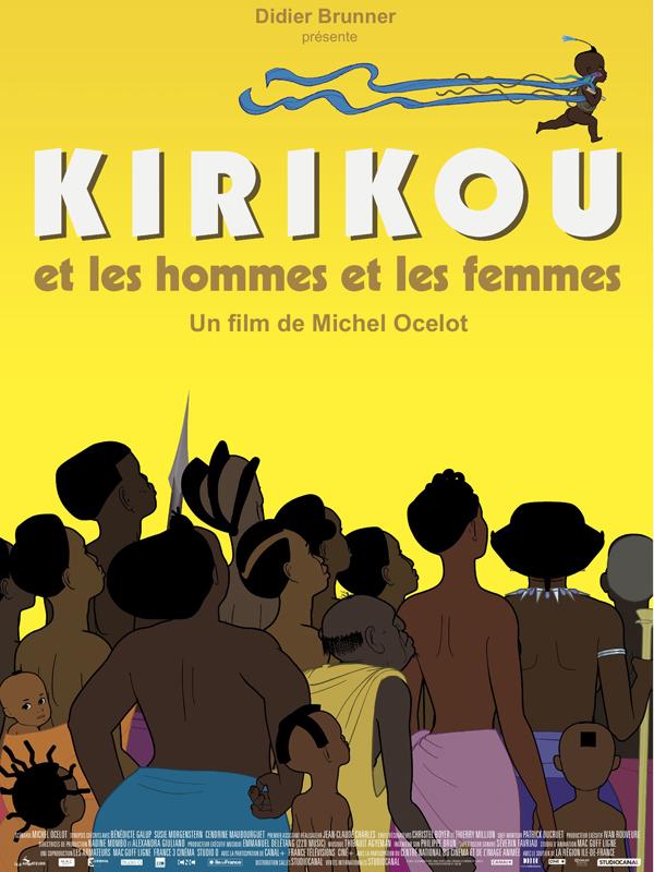 Kirikou et les hommes et les femmes : Affiche