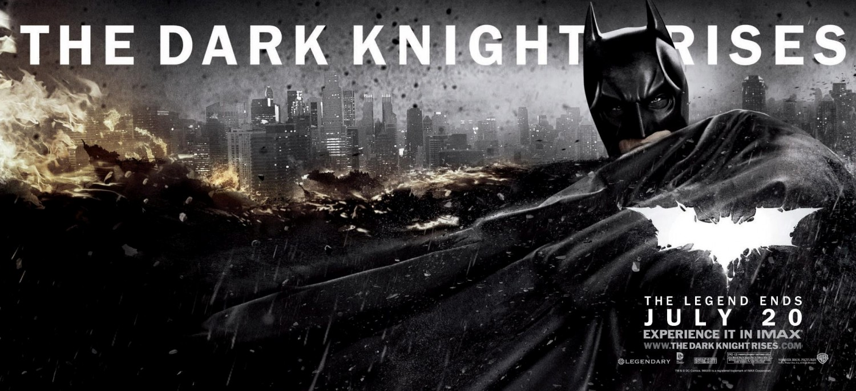 The Dark Knight Rises : Affiche Christian Bale