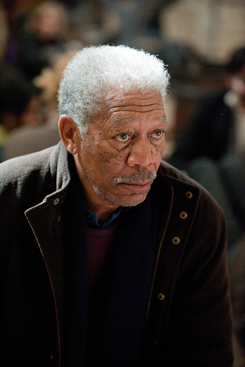 The Dark Knight Rises : Photo Morgan Freeman