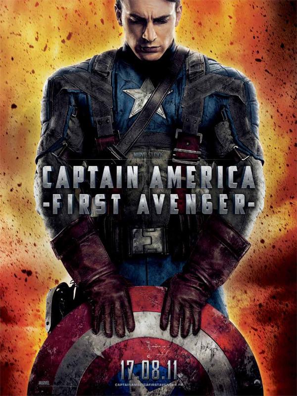 affiche du film captain america first avenger affiche 4 sur 10 allocin. Black Bedroom Furniture Sets. Home Design Ideas