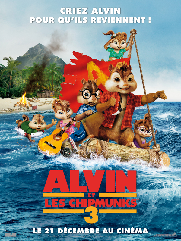 Alvin et les Chipmunks 3 [FRENCH BDRiP]