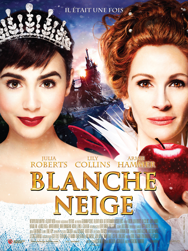 Blanche neige film 2012 allocin for Miroir miroir streaming
