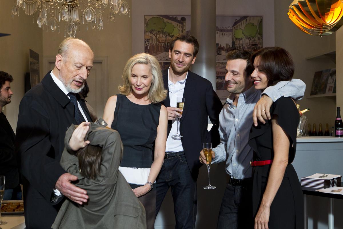 La Vie d'une autre : Photo Aure Atika, Marie-Christine Adam, Mathieu Kassovitz, Nicolas Carpentier, Sylvie Testud