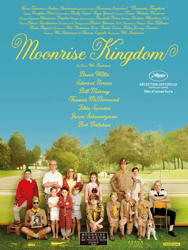 Moonrise Kingdom : affiche