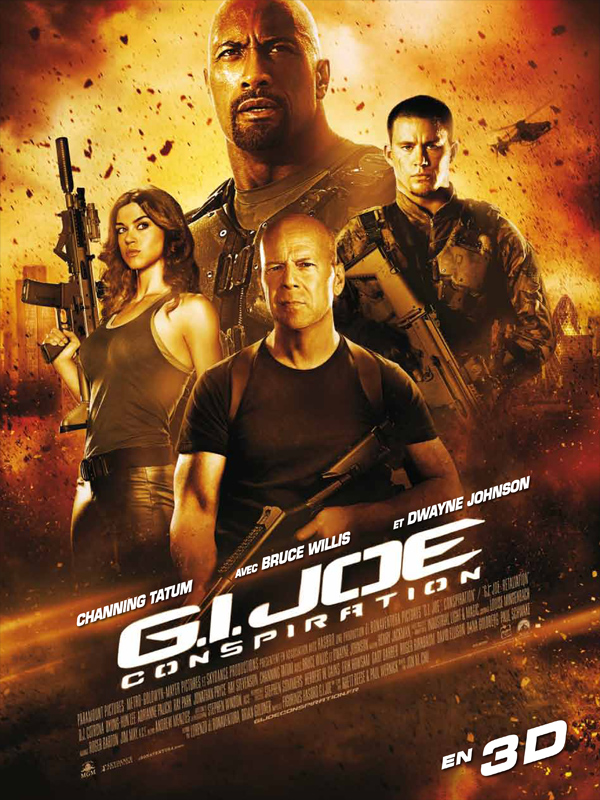 G.I. Joe : Conspiration (2013) [VOSTFR] [Blu-Ray 720p / 1080p]