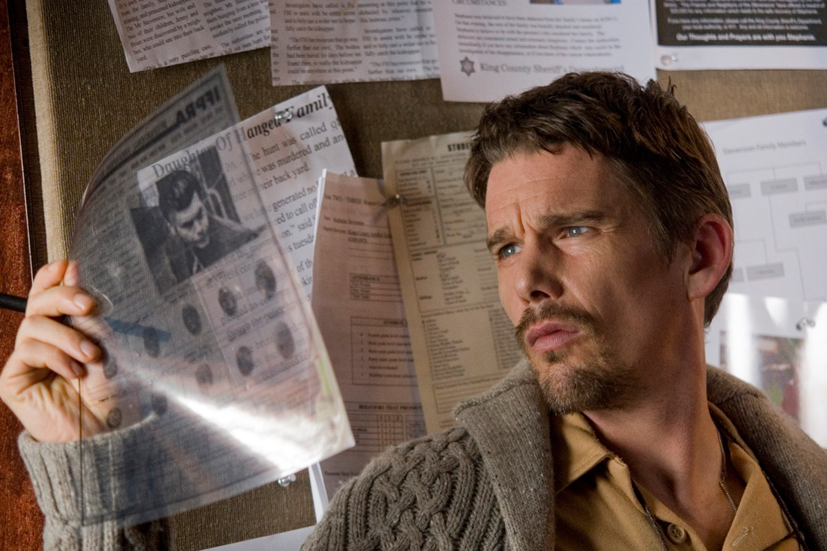 Sinister : photo Ethan Hawke