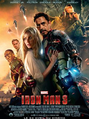 Horaires séances du film Iron Man 3