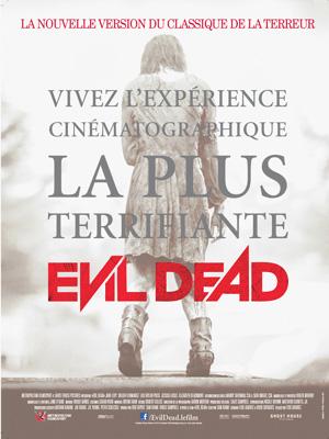 Horaires séances du film Evil Dead