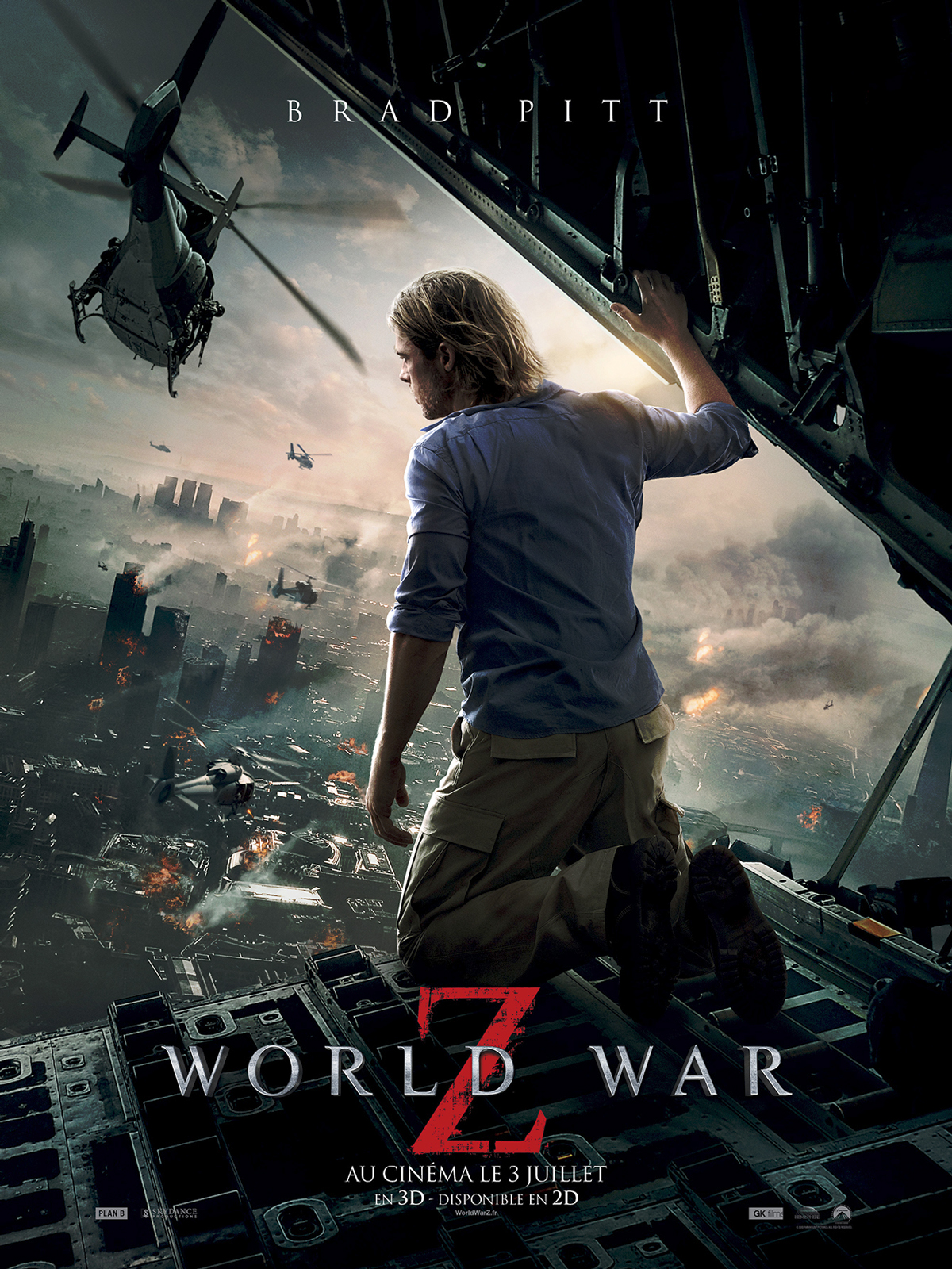 World War Z | Multi | BRRiP | 2CD | TRUEFRENCH | 2013