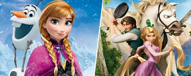 La reine des neiges plus forte que raiponce au box office actus cin allocin - Photo la reine des neige ...