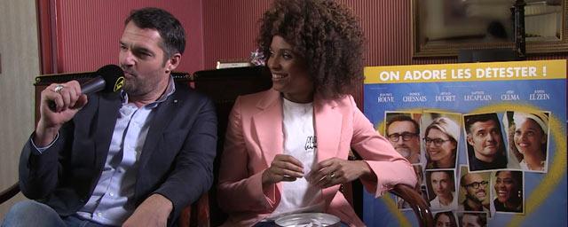 Les Ex : l'interview-quiz de Stéfi Celma et Arnaud Ducret !