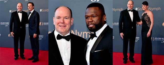Kyle MacLachlan, Paget Brewster et 50 Cent réunis pour la clôture du 57ème Festival de Monte-Carlo