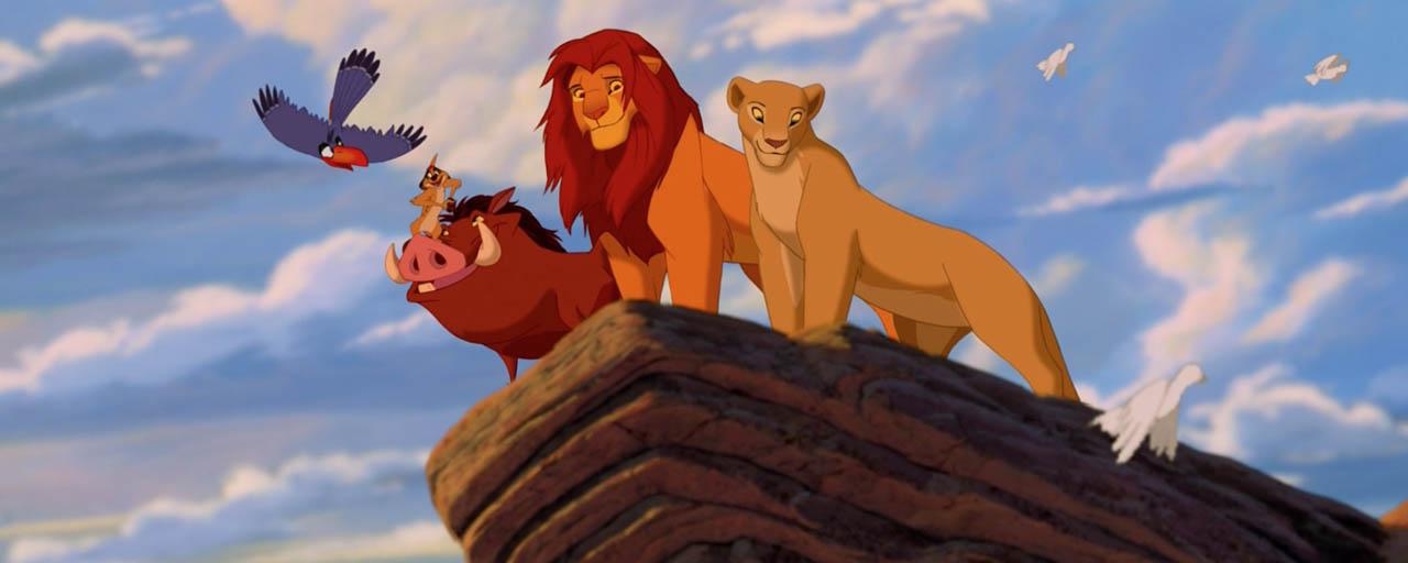 le roi lion une vid o in dite d voile l 39 enregistrement des voix en 1994 actus cin allocin. Black Bedroom Furniture Sets. Home Design Ideas