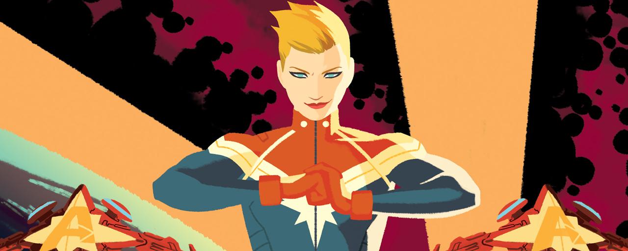 Captain Marvel : la super-héroïne s'offre la scénariste de Tomb Raider