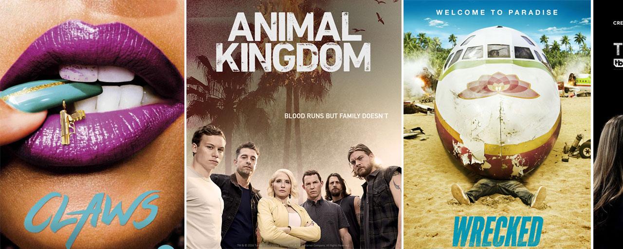 Claws, Animal Kingdom, Wrecked... la nouvelle chaîne Warner TV présente ses séries