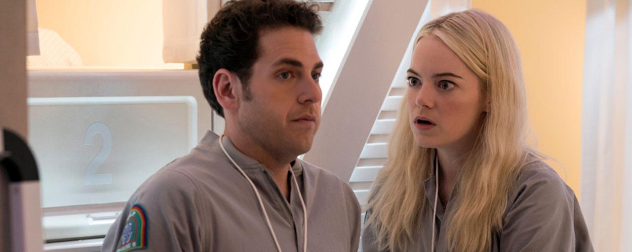 Maniac : la série Netflix avec Emma Stone et Jonah Hill se dévoile en photos