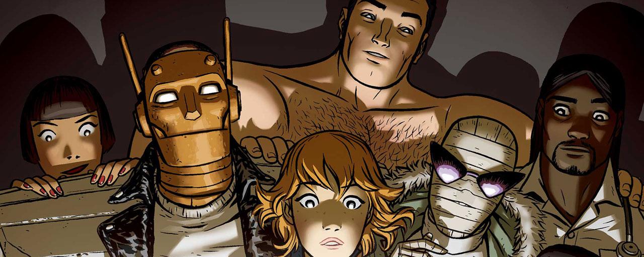 Doom Patrol : Une nouvelle série super-héroïque signée Greg Berlanti commandée par la future plateforme streaming de DC