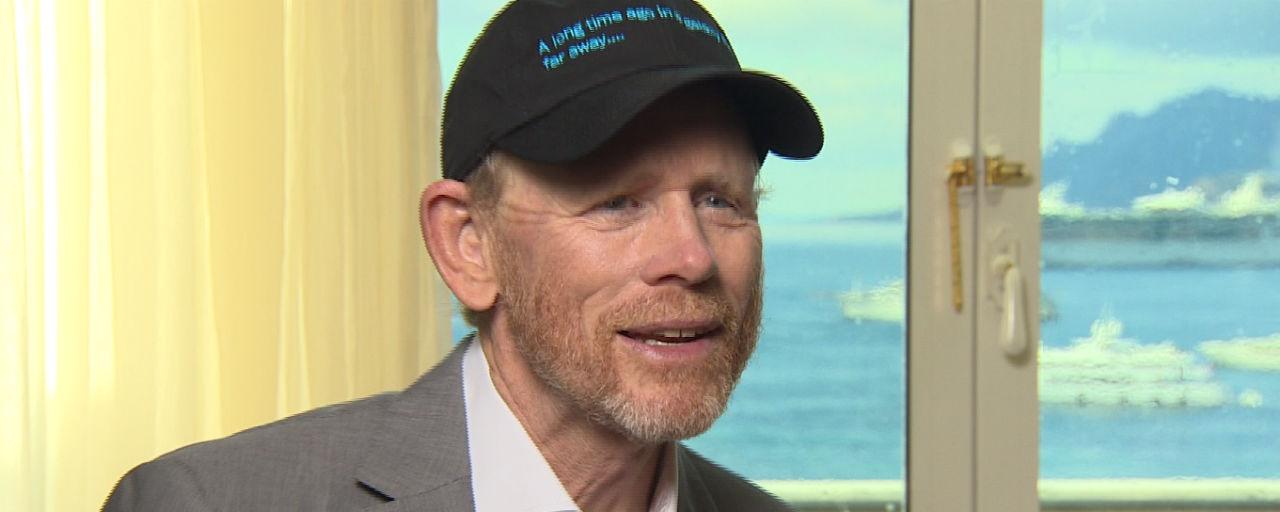"""Cannes 2018 - Star Wars : """"J'ai beaucoup pensé à Steve McQueen pour notre Han Solo"""" confie Ron Howard"""