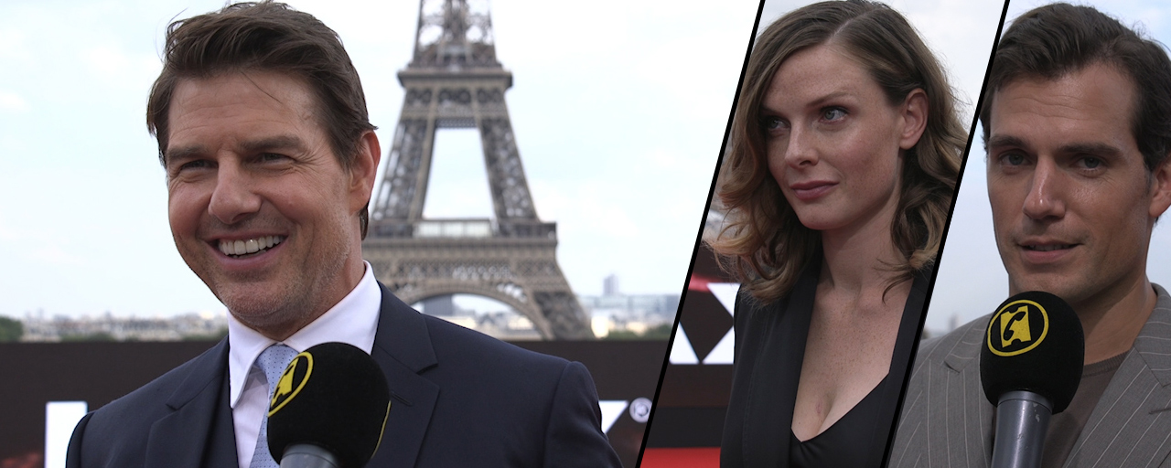Mission Impossible - Fallout : on a lancé un défi à Tom Cruise, Henry Cavill, Rebecca Ferguson, Simon Pegg...