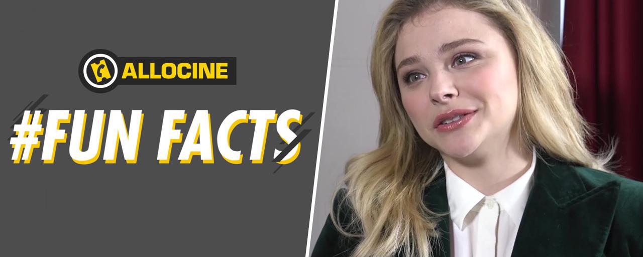#Fun Facts : saviez-vous que Chloë Grace Moretz n'a pas pu voir son tout premier film ?