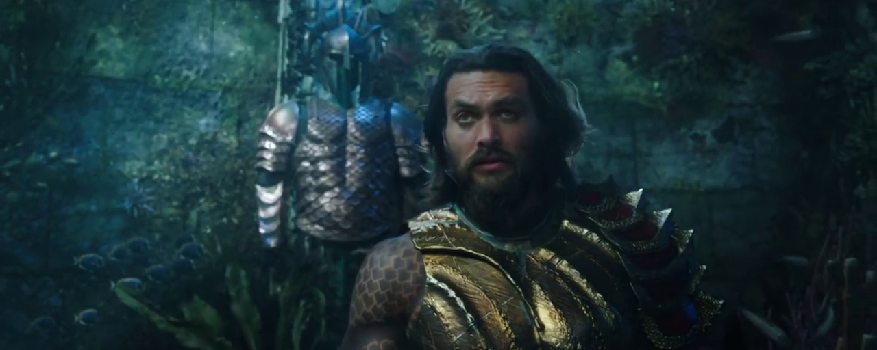 Comic-Con 2018 : Aquaman au secours de son royaume dans la bande-annonce sous-marine
