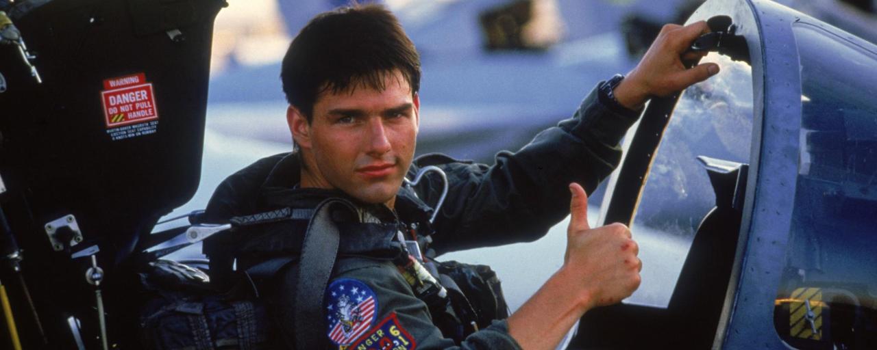 Savez-vous que Top Gun est le film américain le plus diffusé à la télé française ?